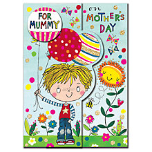 Buy Rachel Ellen For Mummy Mother's Day Card Online at johnlewis.com