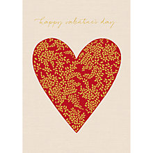 Buy Art File Heart Valentine's Day Card Online at johnlewis.com