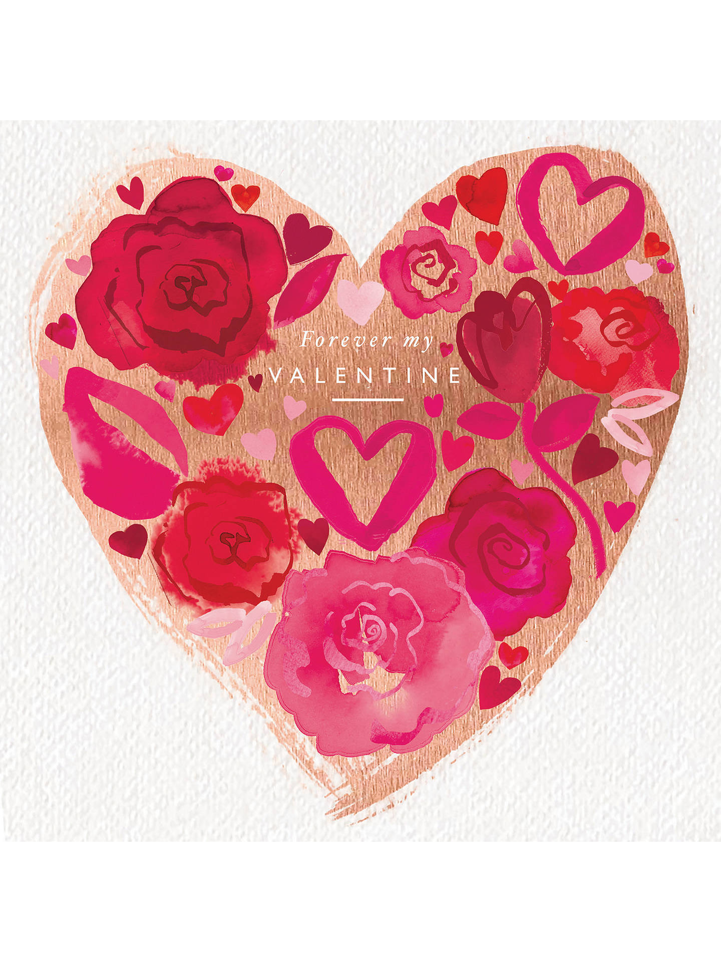 BuyWoodmansterne Forever My Valentines Day Card Online At Johnlewis