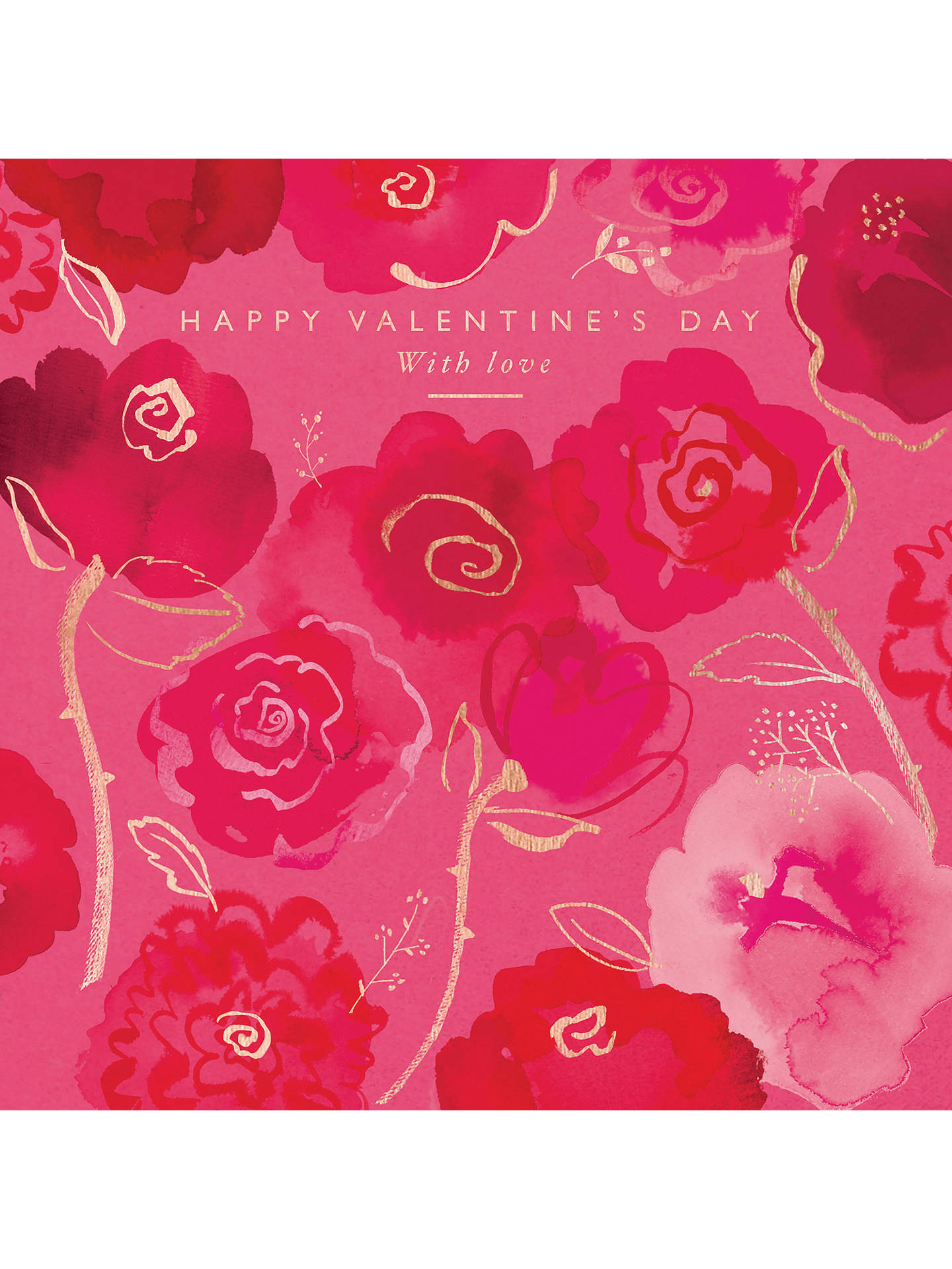 BuyWoodmansterne With Love Valentines Day Card Online At Johnlewis
