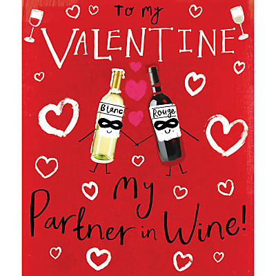Product photo of Cardmix partner in wine valentine s day card
