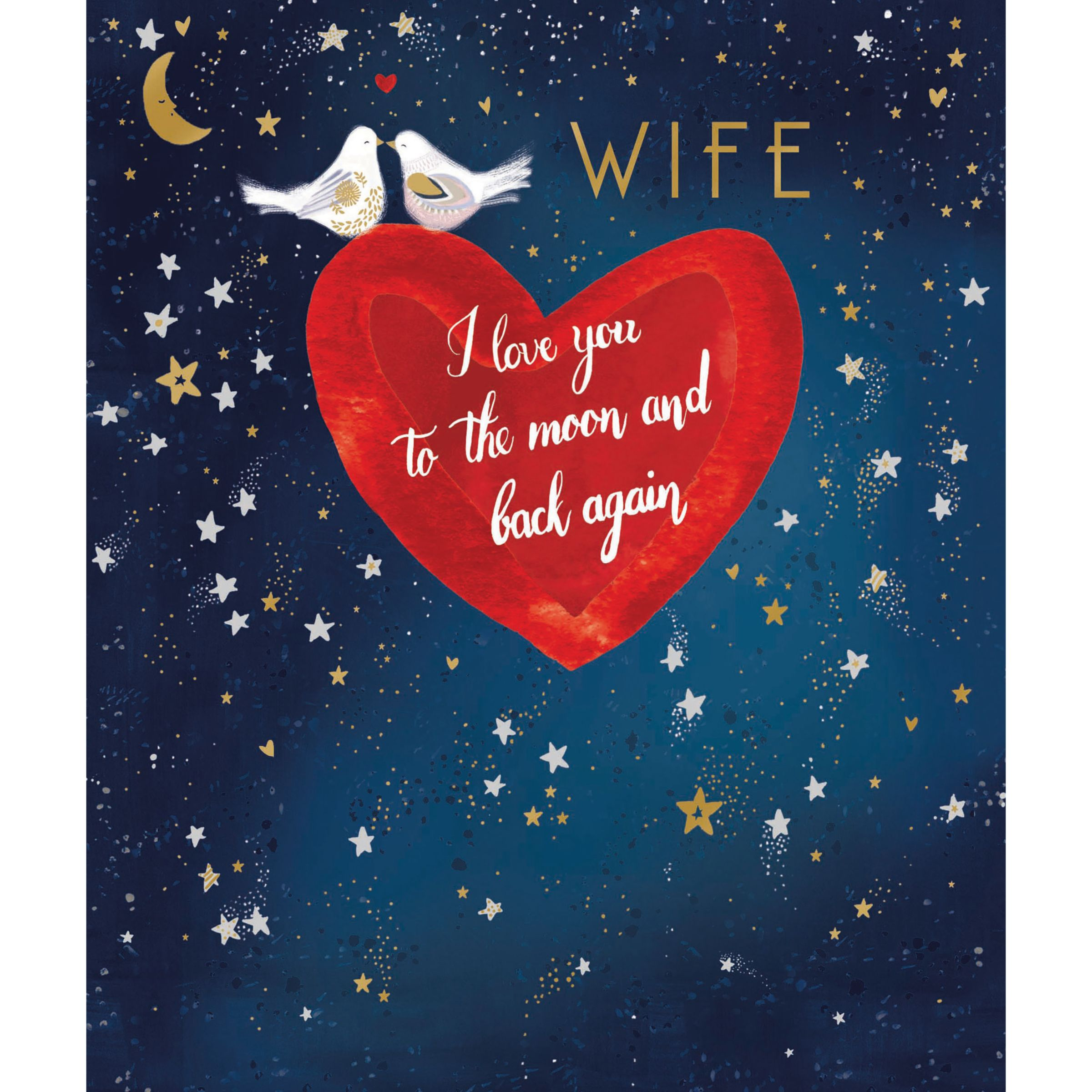Woodmansterne My Love Valentines Day Card Compare Bluewater