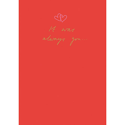 buy woodmansterne always valentines day card online at johnlewis