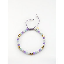 Buy Lola Rose Boxed Edin Bracelet, Violet/Aqua Quartzite Online at johnlewis.com