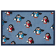 Buy Turtle Mat Snowball Penguins Door Mat, Multi Online at johnlewis.com