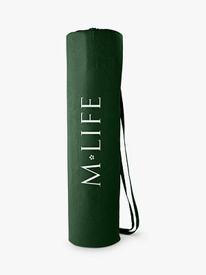 Buy M Life Cotton Yoga Mat Bag, Forest Green Online at johnlewis.com