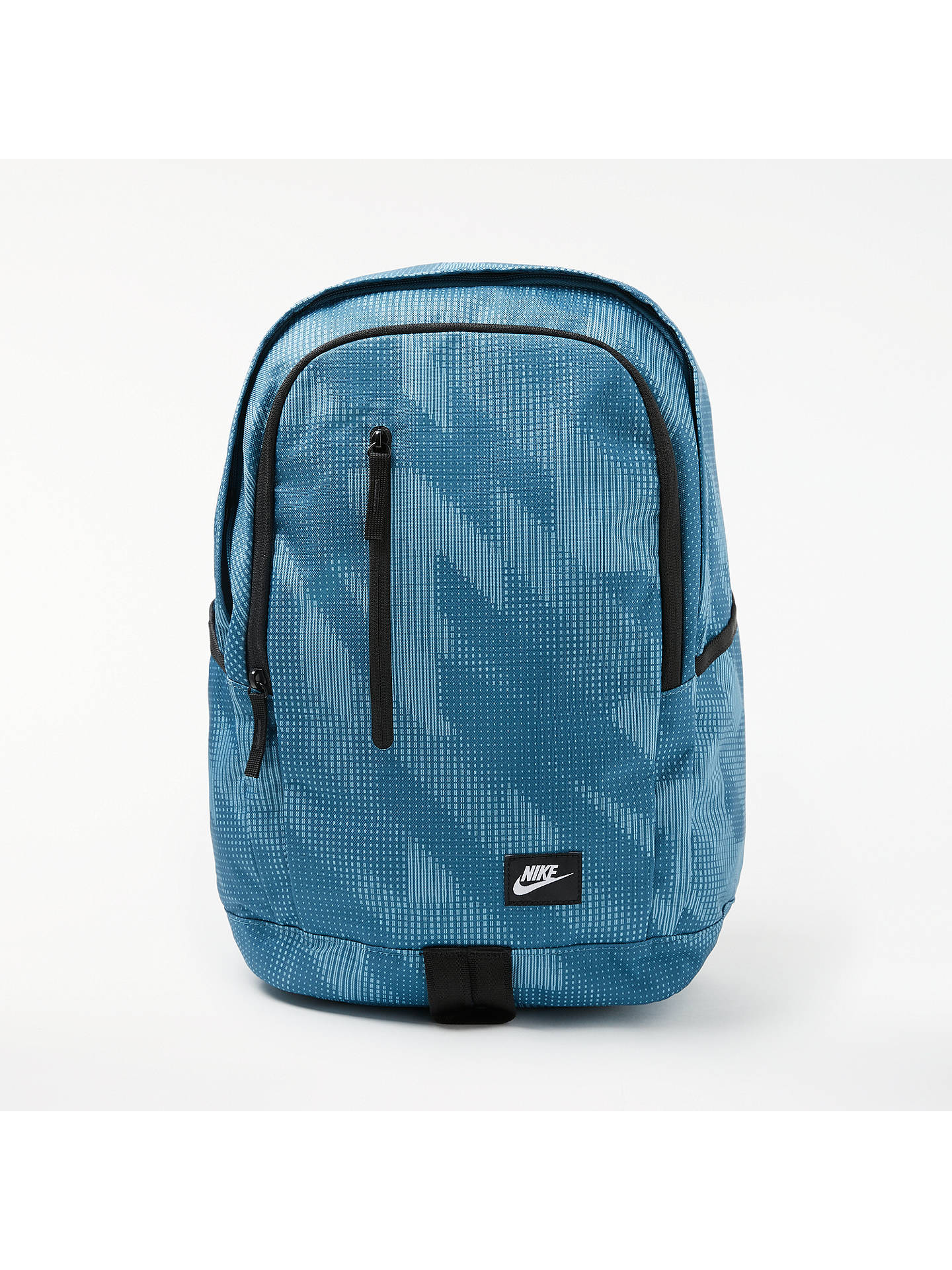 Nike All Access Soleday Backpack, Blue Black at John Lewis   Partners 24c9d348aa