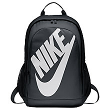Buy Nike Sportswear Hayward Futura Backpack, Black/White Online at johnlewis.com