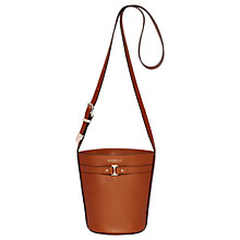 Buy Modalu Grace Leather Mini Bucket Bag Online at johnlewis.com