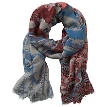 Buy Betty & Co. Textured Printed Scarf, Multi Online at johnlewis.com