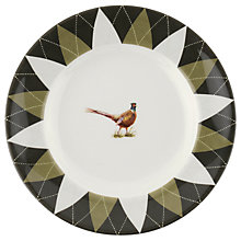 Buy Spode Glen Lodge Pheasant Tea Plate, White/Multi, Dia.15cm Online at johnlewis.com