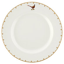Buy Spode Glen Lodge Pheasant Dinner Plate, White/Multi, Dia.27cm Online at johnlewis.com