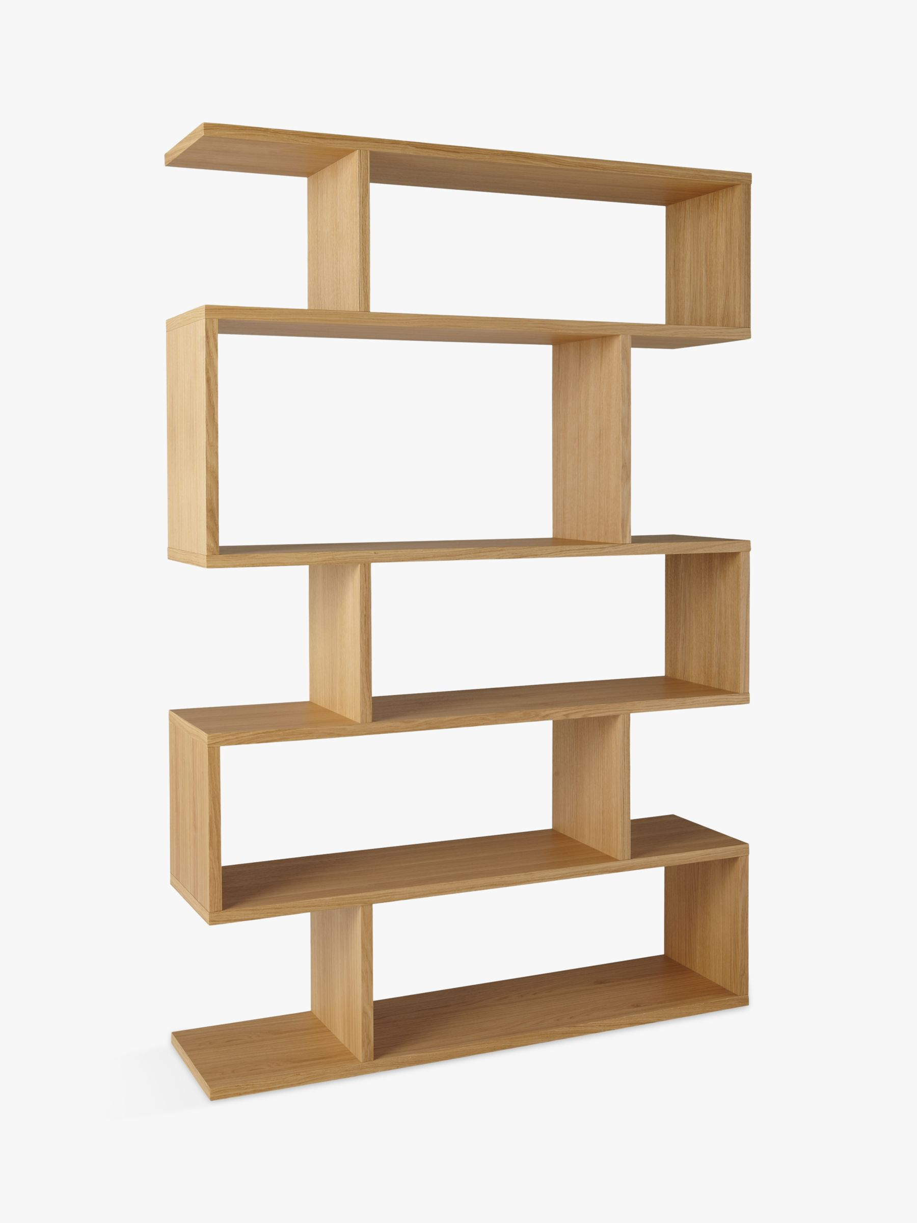 Content By Terence Conran Balance Wide Shelving Unit Oak