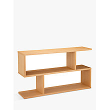 Buy Content by Terence Conran Balance Low Console Table, FSC-Certified (Oak), Natural Oak Online at johnlewis.com