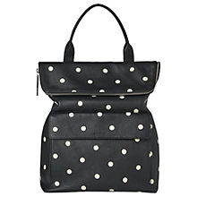 Buy Whistles Verity Limited Spot Leather Backpack, Black Online at johnlewis.com