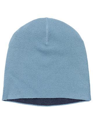 0745b54be08 Winser London Double Face Wool Blend Beanie Hat