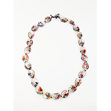 Buy Jackie Brazil Kathy Cascade Long Necklace, Multi Online at johnlewis.com