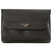 Buy Dune Ellanaa Clutch Bag, Black Online at johnlewis.com