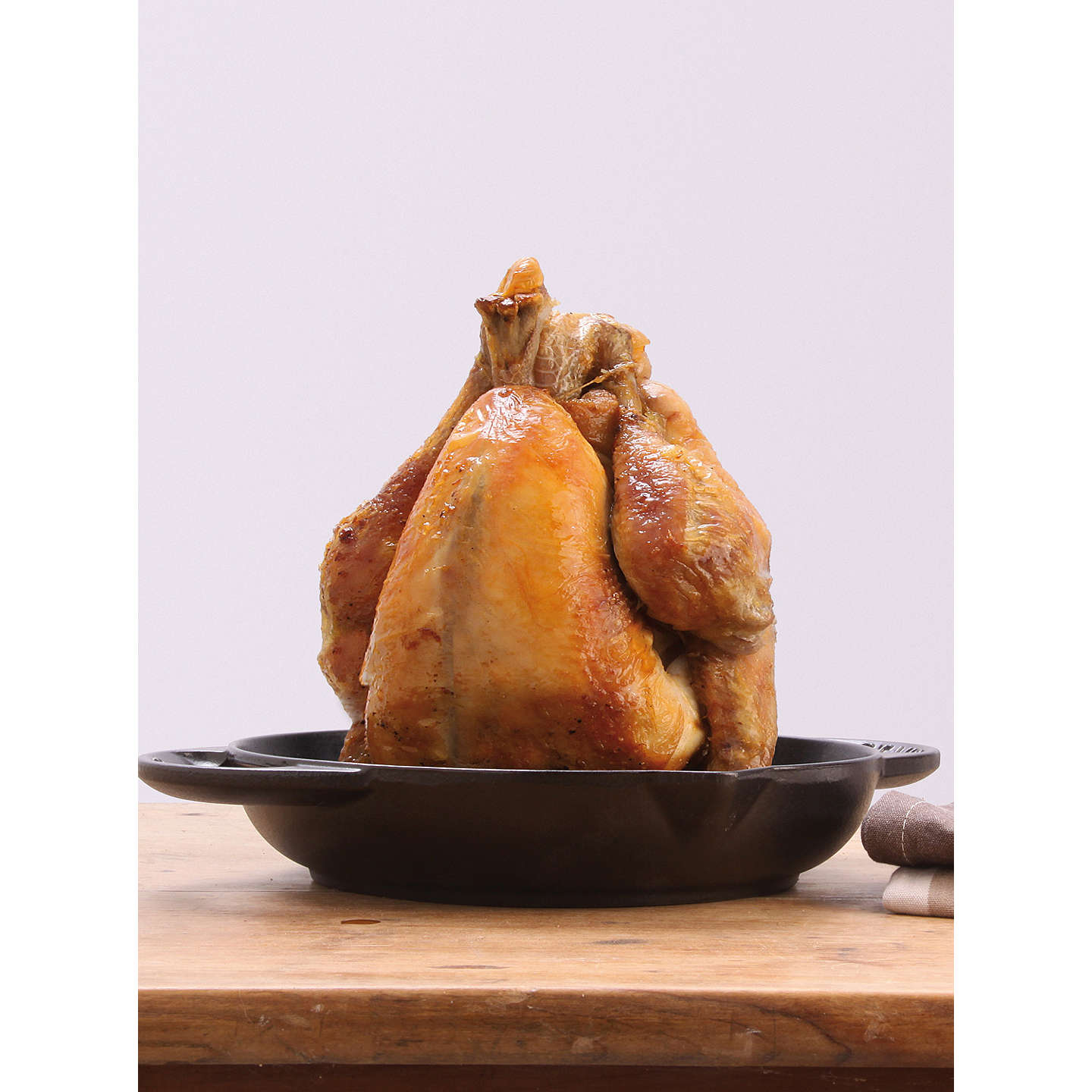 BuySTAUB Cast Iron Vertical Chicken Roaster, Black, 24cm Online at johnlewis.com