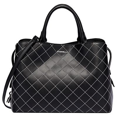 Fiorelli Bethnal Triple Compartment Grab Bag, Mono Quilt