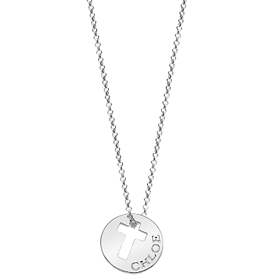 Molly Brown London Sterling Silver Hope Open Cross Necklace Review