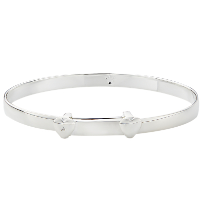 Molly Brown London Sterling Silver My 1st Diamond Christening Bangle Review
