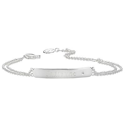 Molly Brown London Sterling Silver My 1st Diamond Identity Bracelet Review