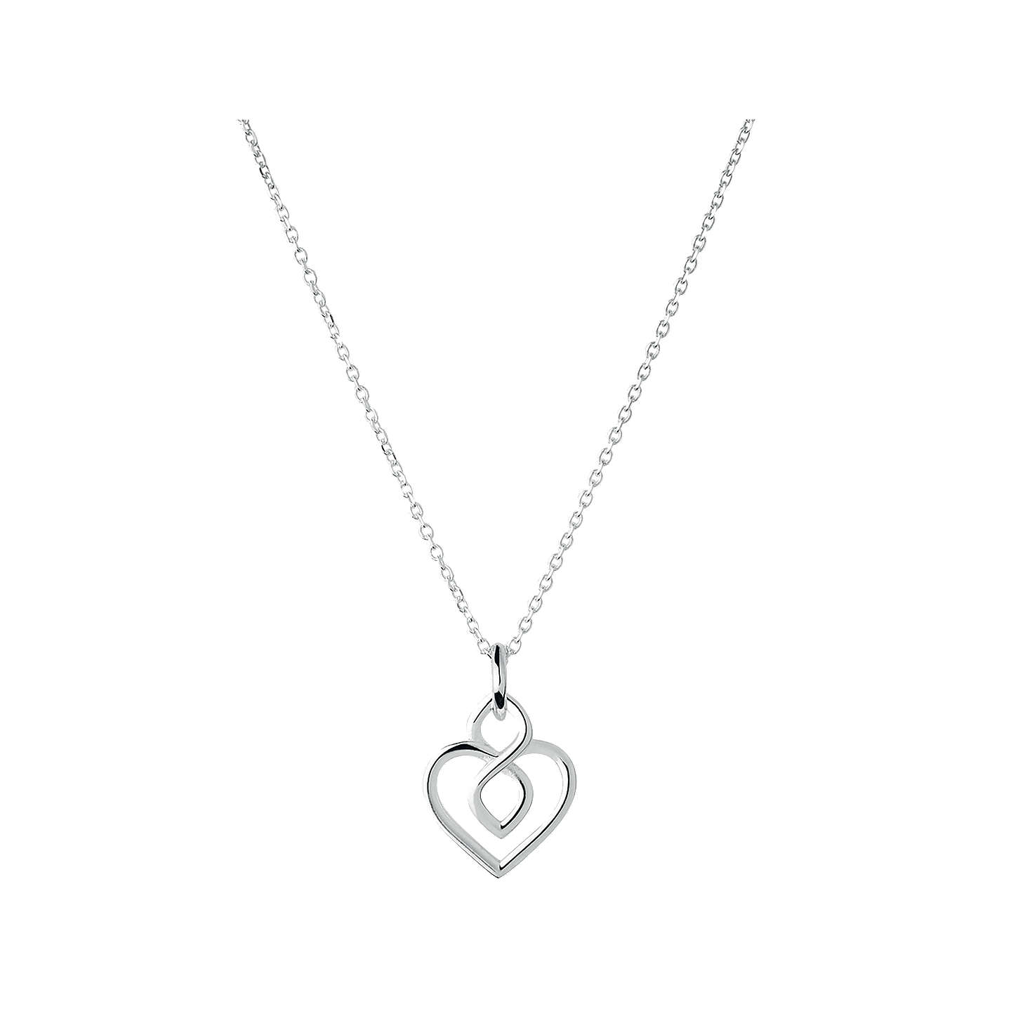 Links of london infinite love sterling silver pendant necklace buylinks of london infinite love sterling silver pendant necklace silver online at johnlewis aloadofball Image collections