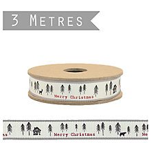 Buy East of India Pine Forest Ribbon, 3m x 1.5cm Online at johnlewis.com