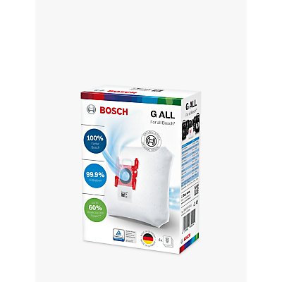 Bosch PowerProtect Dust Bags, Pack of 4