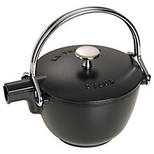Buy STAUB Cast Iron 5 Cup Teapot and Serving Pot, 1.1L Online at johnlewis.com