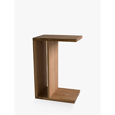 Hudson Living Kielder Sofa Side Table, Oak