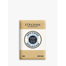 Buy L'Occitane Shea Milk Extra Gentle Soap, 250g Online at johnlewis.com