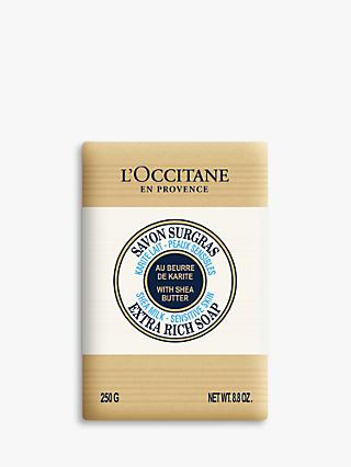 L'Occitane Shea Milk Extra Gentle Soap, 250g