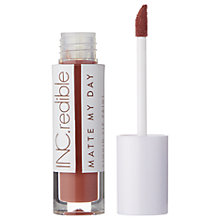 Buy INC.redible Matte My Day Liquid Lip Paint Online at johnlewis.com