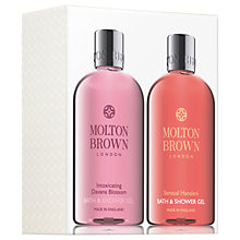 Buy Molton Brown Sensual Hanaleni & Intoxicating Davana Blossom Shower Gel Gift Set Online at johnlewis.com