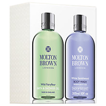 Buy Molton Brown Fairyfleur & White Sandalwood Shower Gel Gift Set Online at johnlewis.com