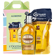 Buy L'Occitane Almond Indulgence Duo Gift Set Online at johnlewis.com