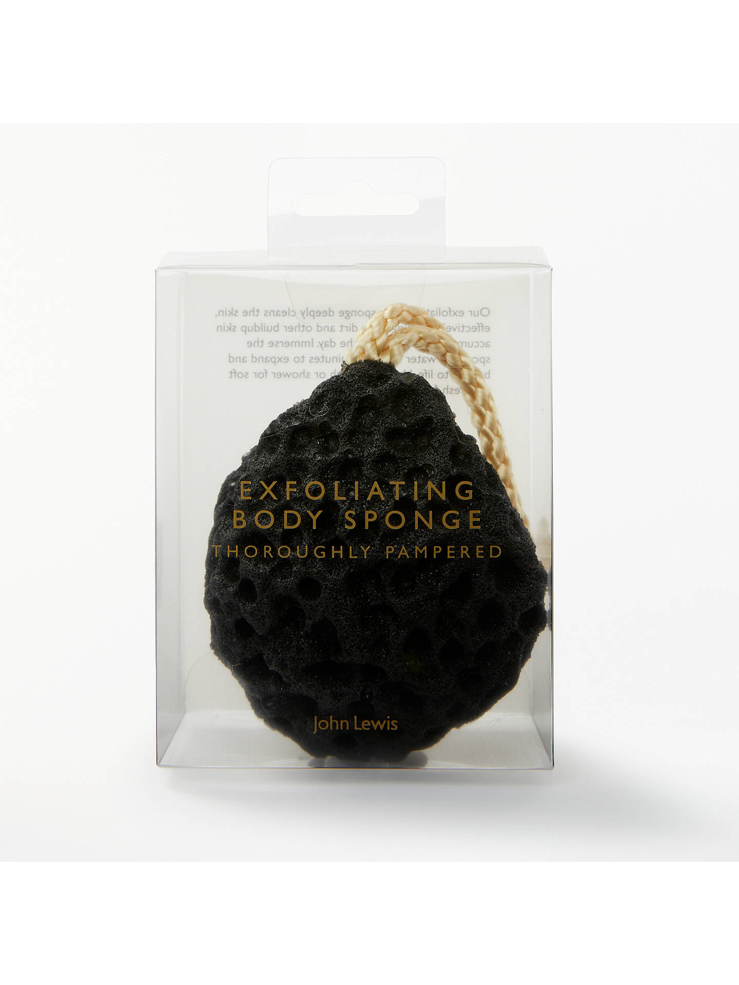 BuyJohn Lewis & Partners Exfoliating Body Sponge Online at johnlewis.com