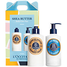 Buy L'Occitane Shea Butter Bodycare Gift Set Online at johnlewis.com