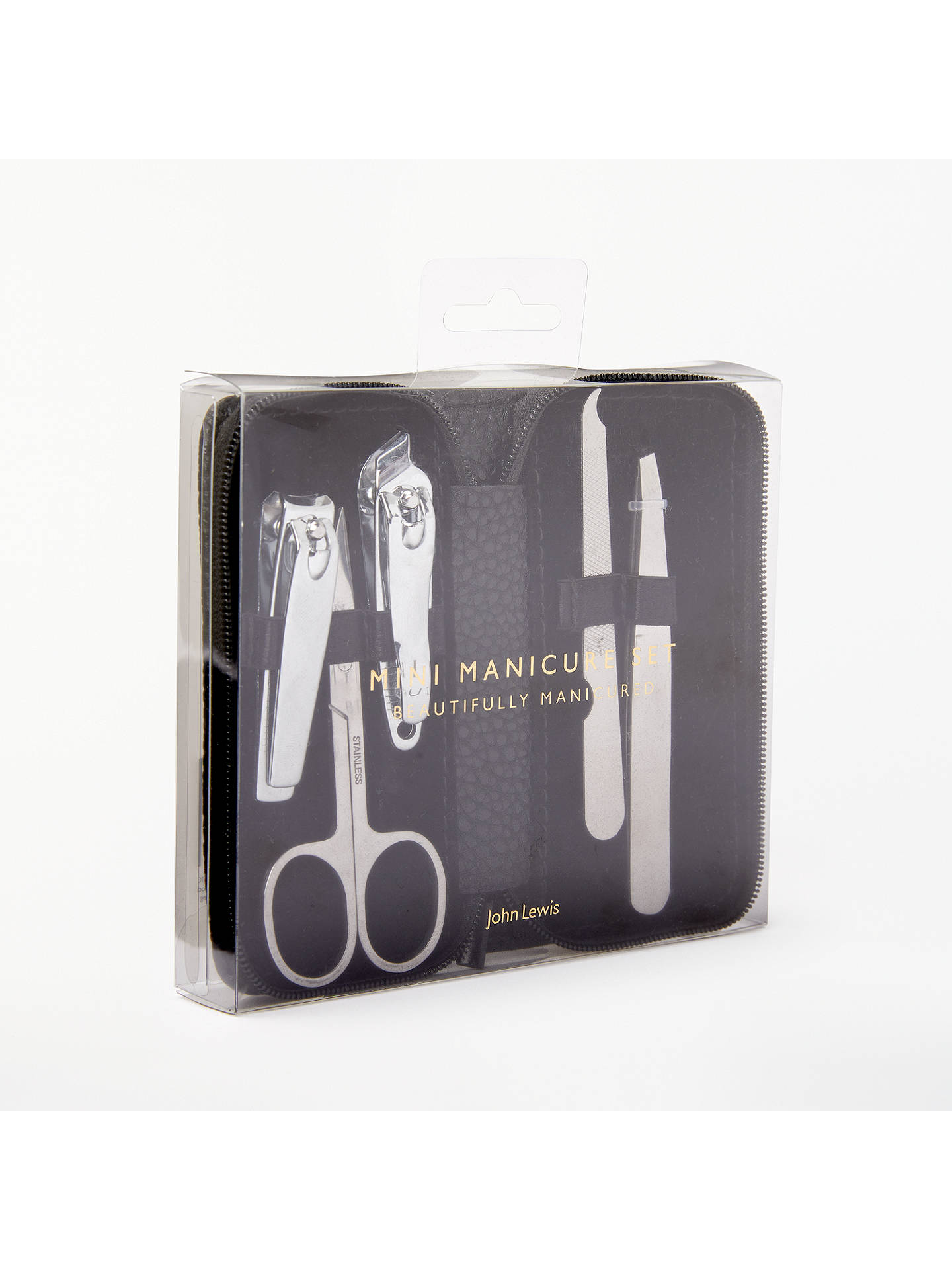 Buy John Lewis & Partners 5 Piece Mini Manicure Set Online at johnlewis.com
