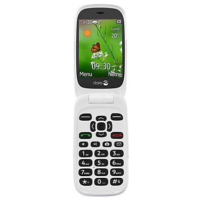 Image of Doro 6530 Smartphone, 2.8, 3G, SIM Free, Black