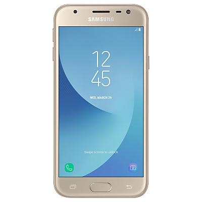 Image of Samsung Galaxy J3 (2017) Smartphone, Android, 5, 4G LTE, SIM Free, 16GB