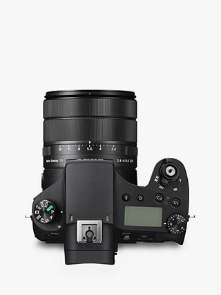 "Buy Sony Cyber-Shot DSC-RX10 IV Bridge Camera, 4K Ultra HD, 20.1MP, 25x Optical Zoom, Wi-Fi, NFC, EVF, 3"" LCD Tiltable Touch Screen Online at johnlewis.com"