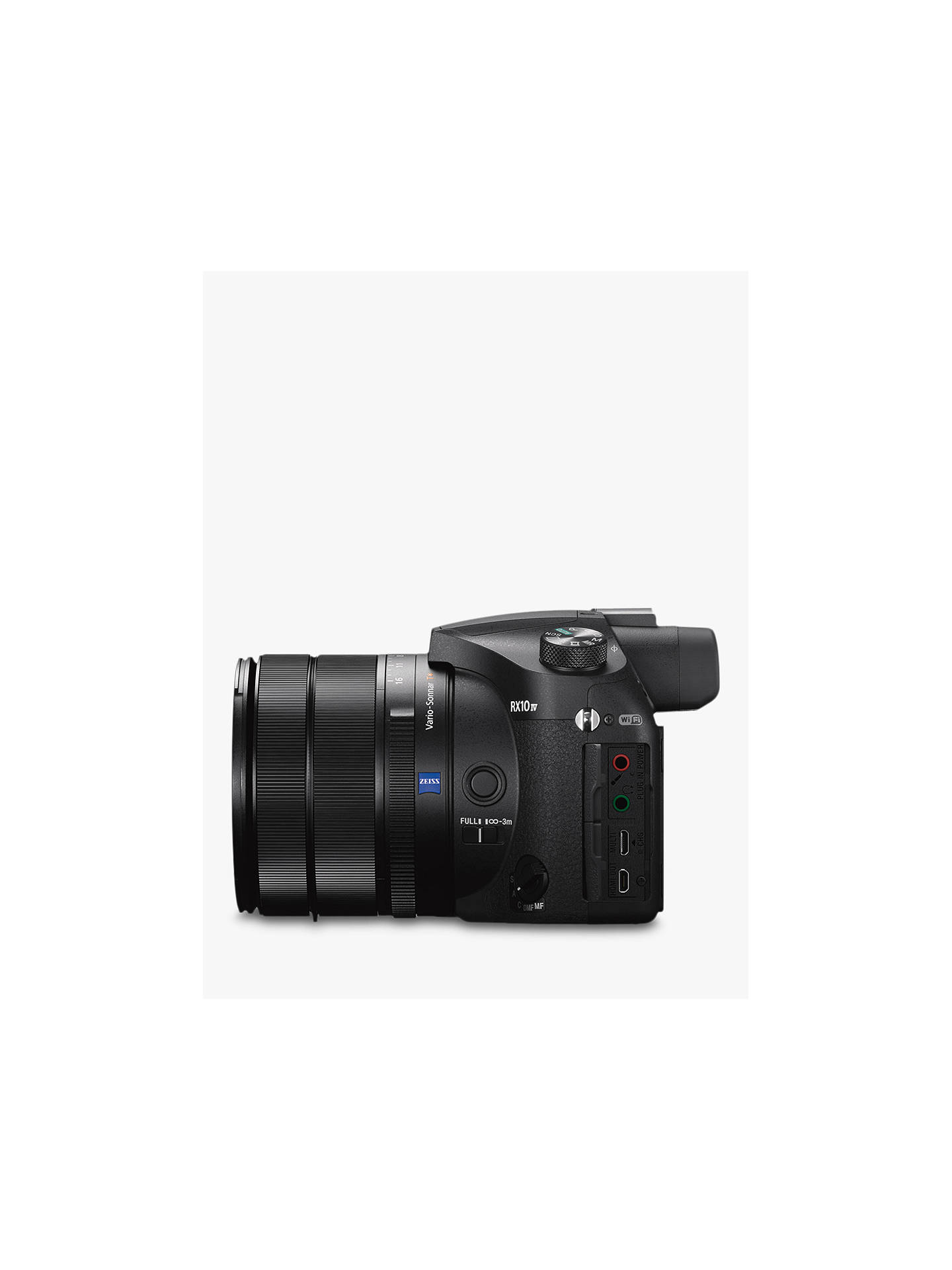 Sony Cyber-Shot DSC-RX10 IV Bridge Camera, 4K Ultra HD, 20 1MP, 25x Optical  Zoom, Wi-Fi, NFC, EVF, 3