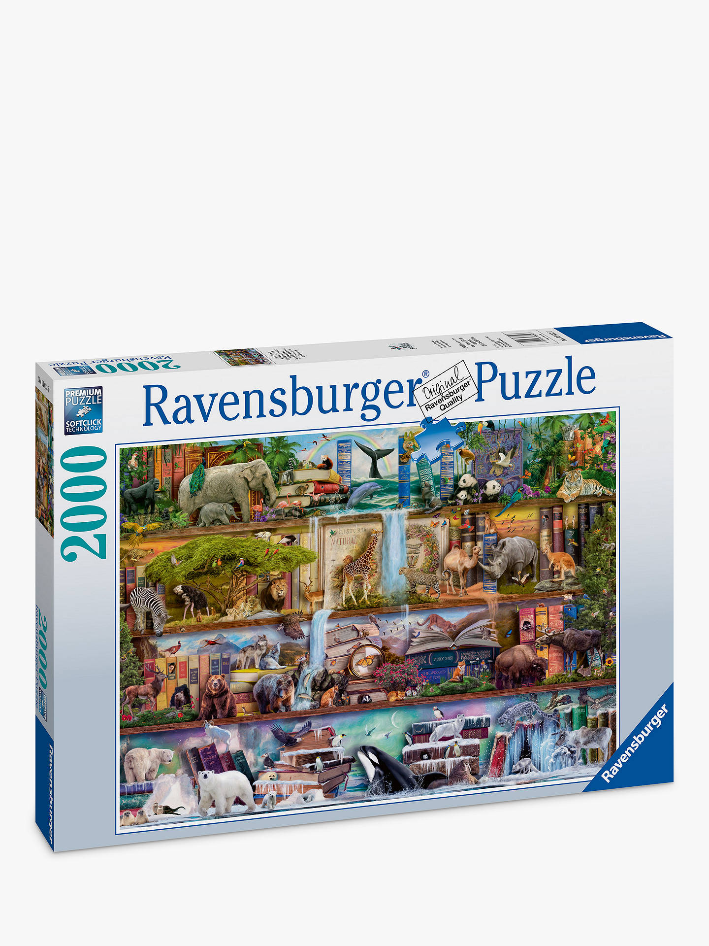 Buy Ravensburger Amazing Animal Kingdom Jigsaw Puzzle, 2000 Pieces Online at johnlewis.com