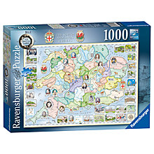 Buy Ravensburger South Midlands & Wales Jigsaw Puzzle, 1000 pieces Online at johnlewis.com