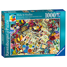 Buy Ravensburger Make It Medley Jigsaw Puzzle, 1000 pieces Online at johnlewis.com