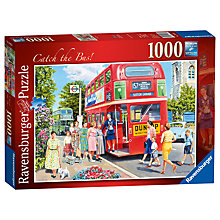 Buy Ravensburger Catch The Bus Jigsaw Puzzle, 1000 pieces Online at johnlewis.com