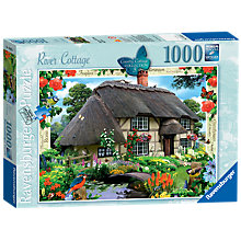 Buy Ravensburger River Cottage Jigsaw Puzzle, 1000 pieces Online at johnlewis.com